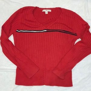 Vintage TH red sweater